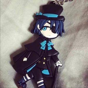 *NWT* Black Butler Kuroshitsuji Keychain